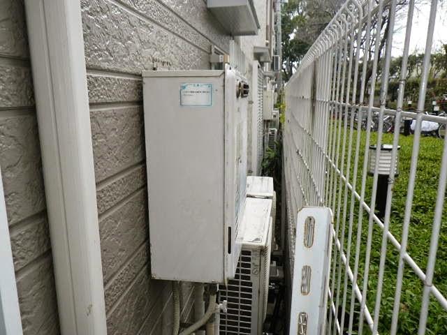 兵庫県 神戸市 北区 戸建て住宅 ノーリツ 24号 ガス風呂給湯器 セミオートタイプ 屋外壁掛型 取替交換工事施工