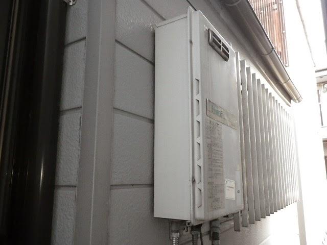 兵庫県 尼崎市 戸建て住宅 ノーリツ 16号 ガス給湯器 屋外壁掛型 取替交換工事施工