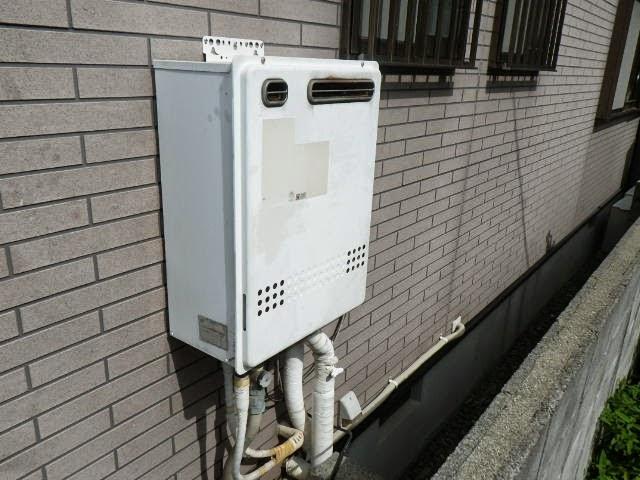 兵庫県 神戸市 東灘区 戸建て住宅 ノーリツ 24号 ガスふろ給湯器 屋外壁掛設置型 セミオート 取替交換工事施工