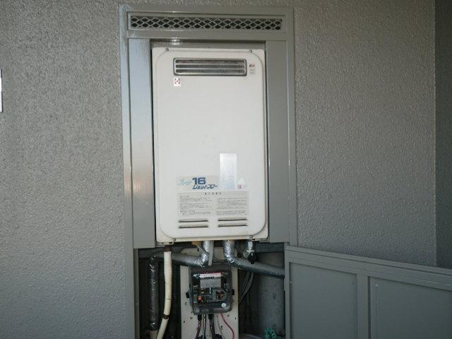 兵庫県 加古川市西河原 マンション ノーリツ 16号 ガス給湯器 高温水供給式 PS標準設置 取替交換工事施工
