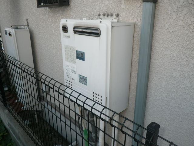 兵庫県 伊丹市 伊丹 戸建住宅 ノーリツ 24号 エコジョーズ ガスふろ給湯器 屋外壁掛型 セミオート 取替交換工事施工