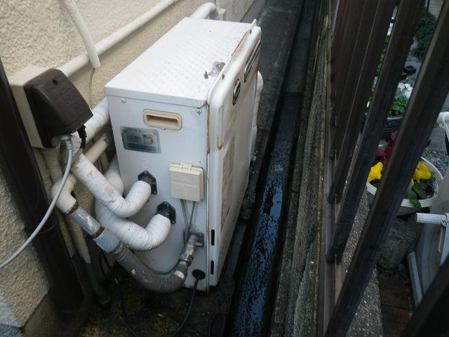 兵庫県 神戸市垂水区 本多聞 戸建住宅 ノーリツ 20号 エコジョーズ 屋外据置設置 セミオート 取替交換工事施工