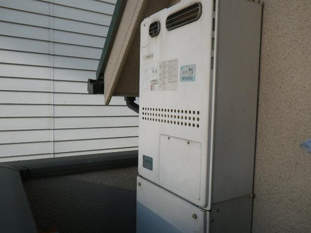 兵庫県 神戸市東灘区 森北町 戸建住宅 ノーリツ エコジョーズ 24号 ガス温水暖房付きふろ給湯器 屋外壁掛型 フルオート 取替交換工事施工