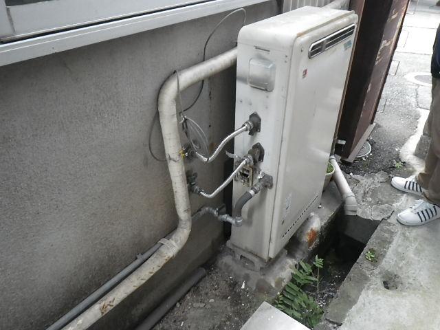 大阪府 寝屋川市 高柳 戸建住宅 ノーリツ 16号 エコジョーズ ガス給湯器 取替工事 GRQ-1610SA から GT-C1652SAWX-2 BL