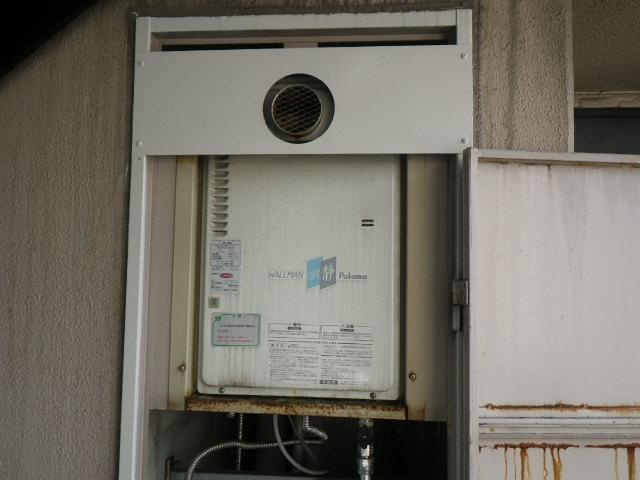 兵庫県 尼崎市 東難波町 マンション ノーリツ 16号 ガス給湯器 取替交換工事施工 PH-16CW3A から GQ-1637WS-T