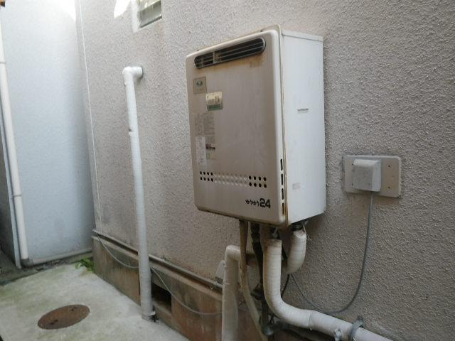 神戸市垂水区霞ヶ丘 戸建住宅 ノーリツ 20号 ガス給湯器 取替交換工事施工 31-605 から GT-2060SAWX