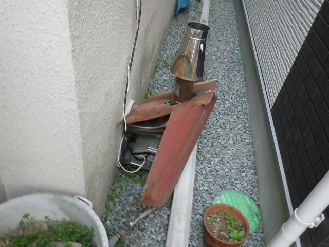 兵庫県 宝塚市 小浜町 戸建住宅 ノーリツ 16号 ガス給湯器 シャワー水栓 新設工事 GQ-1639WS