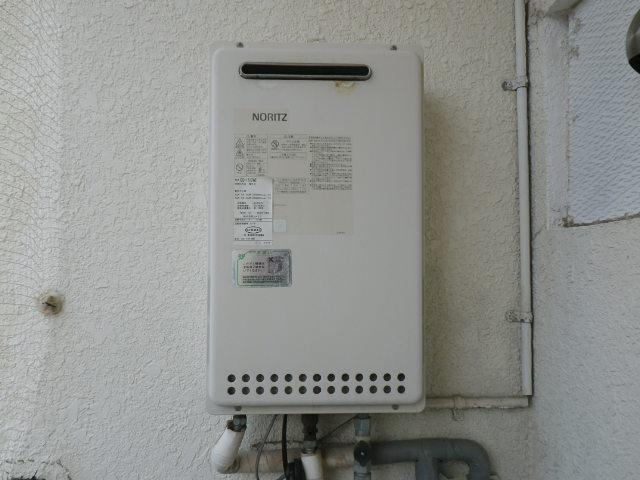 兵庫県 神戸市灘区原田通 マンション 16号ガス給湯器 取替交換工事施工 GQ-1612WE から GQ-1639WS