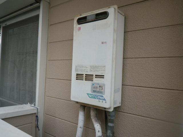 兵庫県尼崎市浜田町 ハイツ ノーリツ 16号ガス給湯器 取替交換工事施工 GQ-161W から GQ-1639WS