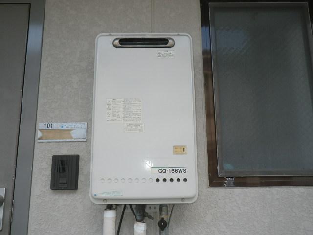 兵庫県芦屋市大東町 マンション ノーリツ16号 ガス給湯器 取替交換工事施工 GQ-166WS から GQ-1639WS