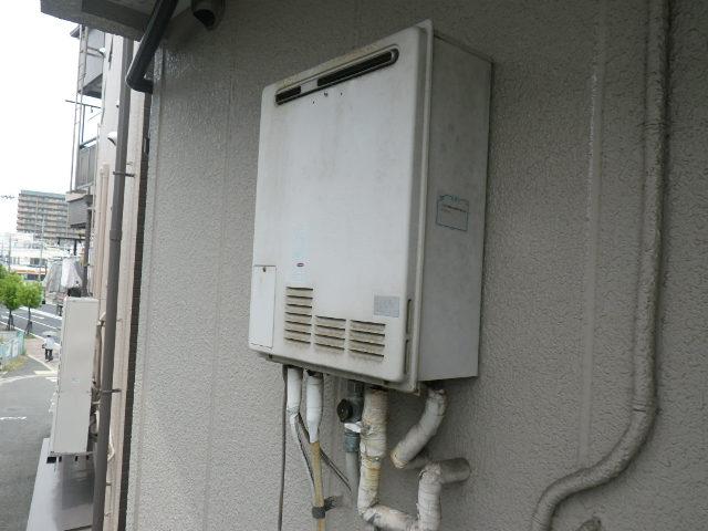 兵庫県伊丹市千僧 戸建住宅 ノーリツ 16号 ガスふろ給湯器 取替交換工事施工 GF-GJ-S16T1 から GT-1660SAWX