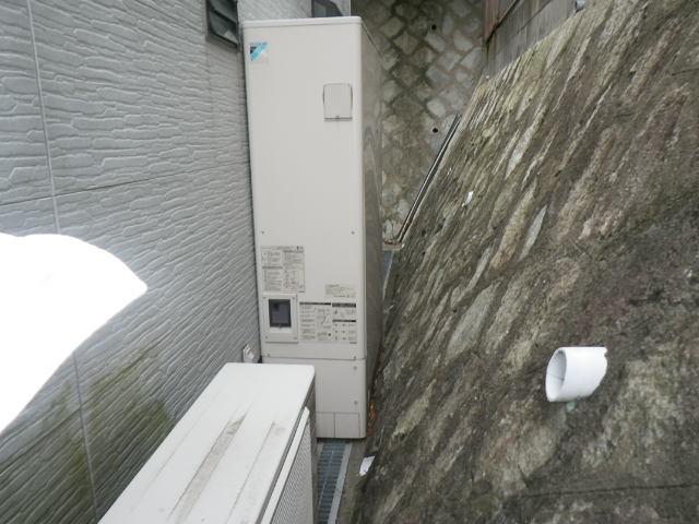 兵庫県 神戸市垂水区舞子坂 リンナイ 24号 エコジョーズ ガスふろ給湯器 取替交換工事施工 ダイキン 電気温水器 エコキュート から RUF-E2405AW
