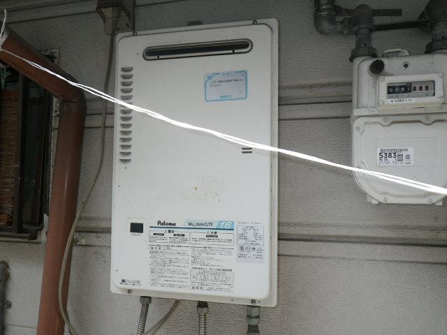 兵庫県 神戸市東灘区森北町 戸建住宅 ノーリツ16号ガス給湯器 取替交換工事施工 PH-16KWQ から GQ-1639WS