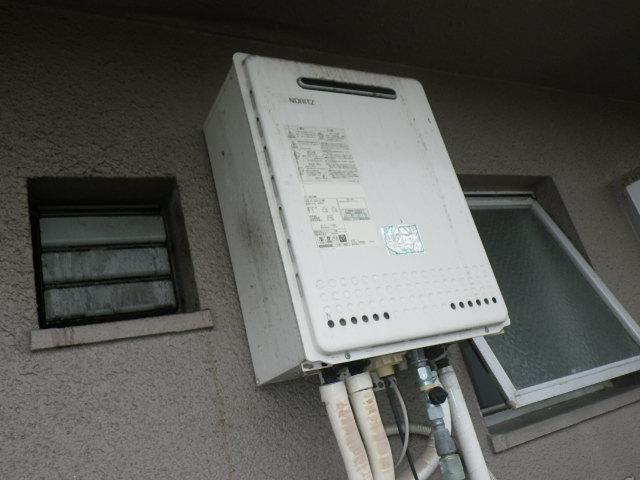 兵庫県神戸市東灘区森南町 マンション ノーリツ 16号 ガスふろ給湯器 取替交換工事施工 GT-1628SAWX から GT-1660SAWX
