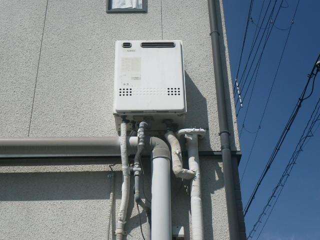 兵庫県西宮市花園町 戸建住宅 ノーリツ20号 ガス風呂給湯器 取替交換工事施工 GT-2028SAWX から GT-2060SAWX