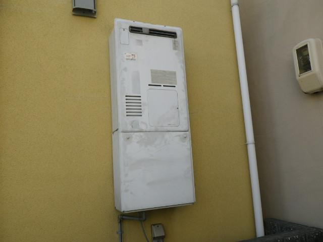 兵庫県尼崎市常吉 戸建住宅 ノーリツ24号 ガスふろ給湯器 取替交換工事施工 135-1300AからGT-2460SAWX