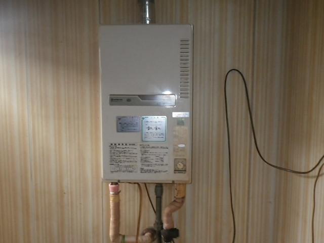 兵庫県神戸市北区幸陽町 戸建住宅 ノーリツ ガス給湯器 取替交換工事施工 KS から GQ-1637WSD-F-1