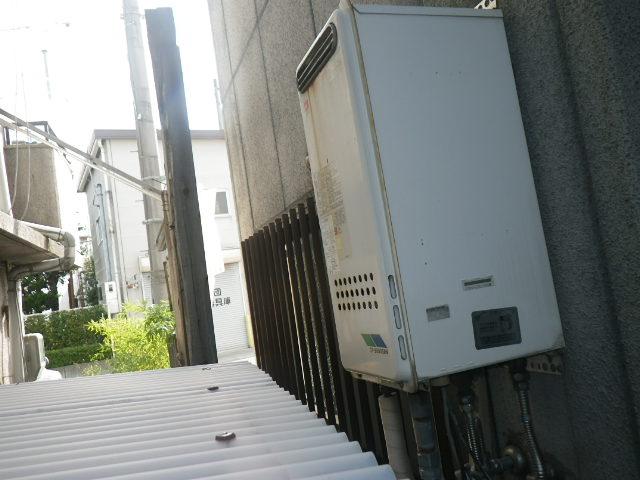 兵庫県尼崎市杭瀬 戸建住宅 ノーリツ 20号 ガスふろ給湯器 取替交換工事施工 GT-2003SAW から GT-2053SAWX-2
