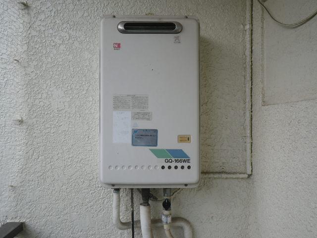 兵庫県神戸市灘区原田通 マンション ノーリツ16号ガス給湯器 取替交換工事施工 GQ-166WE から GQ-1639WS