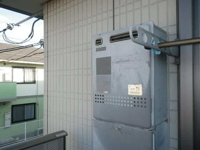 兵庫県 西宮市 中須佐町 ハイツ ノーリツ20号 ガス風呂給湯器 取替交換工事施工 GT-2027SAWX から GT-2060SAWX