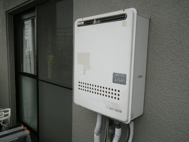 兵庫県西宮市笠屋町 マンション ノーリツ16号 ガスふろ給湯器 取替交換工事施工 GT-165W から GT-1660SAWX