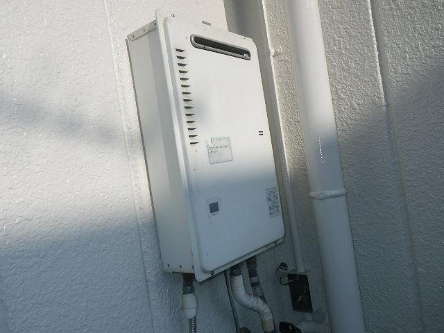 兵庫県尼崎市金楽寺町 戸建住宅 ノーリツ16号ガス給湯器 取替交換工事施工 PH-16CWQ から GQ-1639WS