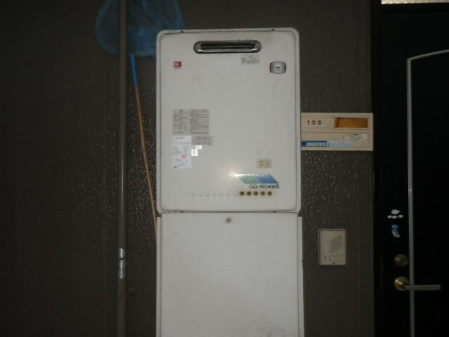 兵庫県神戸市東灘区住吉東町 ハイツ ノーリツ16号ガス給湯器 取替交換工事施工 GQ-1604WS から GQ-1639WS