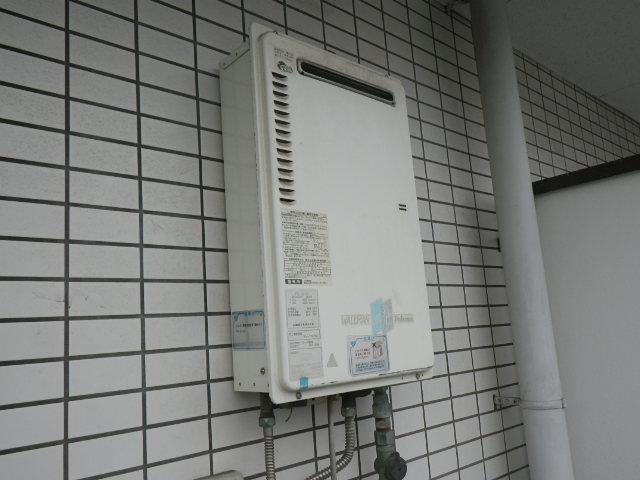 兵庫県宝塚市売布 マンション ノーリツ16号 ガス給湯器 取替交換工事施工 PH-16CW から GQ-1639WS