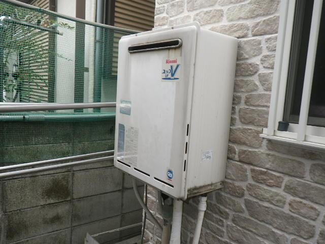 兵庫県西宮市堤町 戸建住宅 ノーリツ エコジョーズ 24号 ガスふろ給湯器 取替交換工事施工 RUF-A2400SAW から GT-C246SAWX BL
