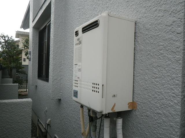 川西市大和東町 戸建住宅 ノーリツ24号ガスふろ給湯器 取替交換工事 131-8200 GT-2422AWX から GT-2460AWX