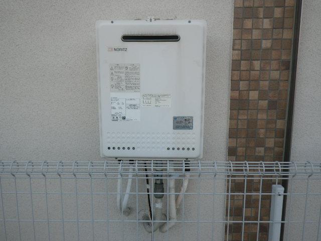 尼崎市三反田町戸建住宅 ノーリツ24号ガスふろ給湯器 取替交換工事施工 GT-2450SAWX から GT-2460SAWX