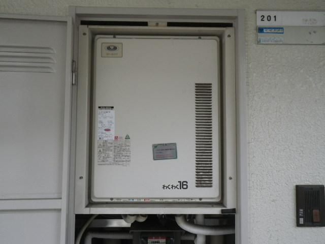伊丹市南本町 マンション ノーリツ16号ガスふろ給湯器 取替交換工事施工 31-507 GT-164SAWS-TB から GT-1660SAWX-TB BL