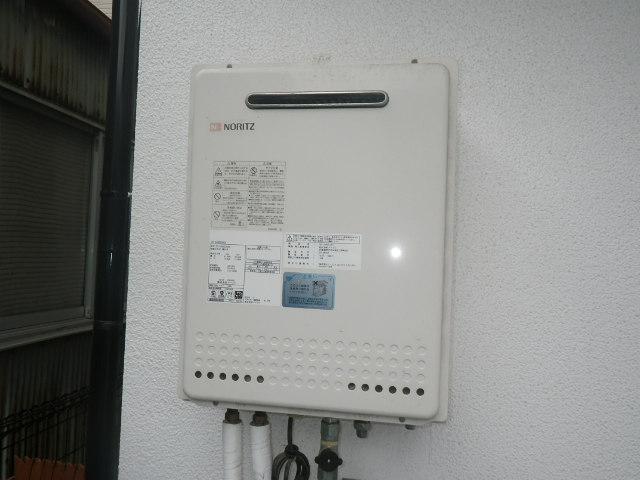 尼崎市立花町 戸建住宅 ノーリツ24号エコジョーズ ガスふろ給湯器 取替交換工事 GT-2450SAWX から GT-C246SAWX