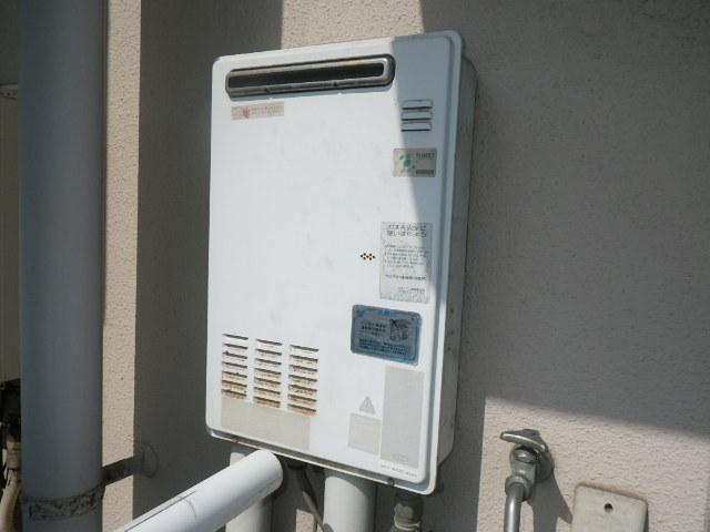 神戸市東灘区住吉南町マンション ノーリツ16号ガス給湯器 取替交換工事 OUR-1600EE から GQ-1639WS