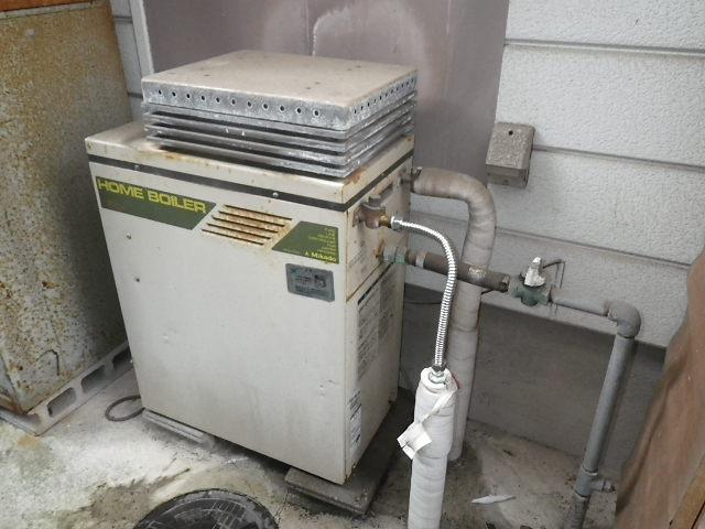神戸市垂水区塩屋台 戸建住宅 エコジョーズ ノーリツ16号ガスふろ給湯器 2つ穴 取替交換工事 KZ-1000 から GRQ-1662SAX BL