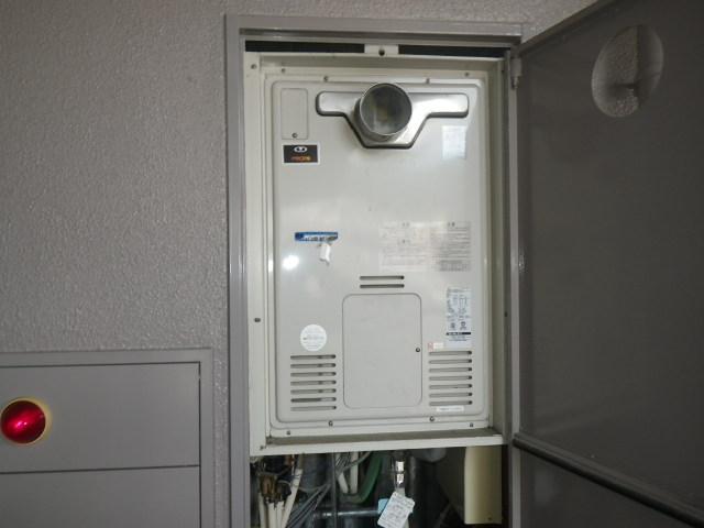 神戸市東灘区森南町マンション ノーリツ 24号 ガスふろ給湯器 取替交換工事施工 44-271 から GT-2460AWX BL