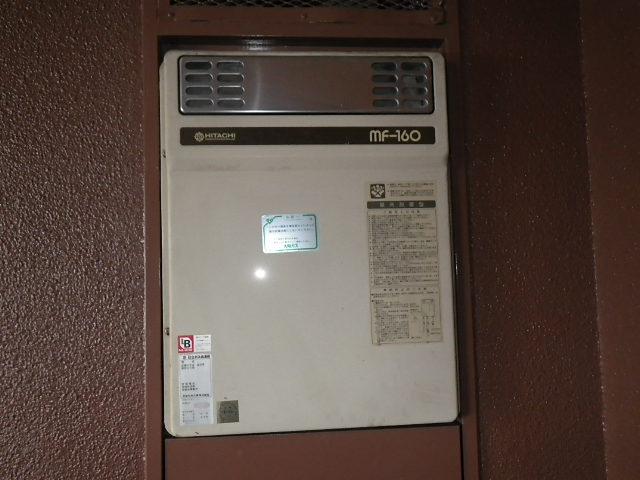 伊丹市南本町 マンション ノーリツ16号ガス給湯器 取替交換工事施工 MF-160 から GQ-1639WS