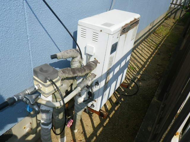 加古川市平岡町 戸建住宅 リンナイ エコジョーズ 20号 ガスふろ給湯器 取替交換工事施工 FP-206SZR から RUF-E2008SAG(A)