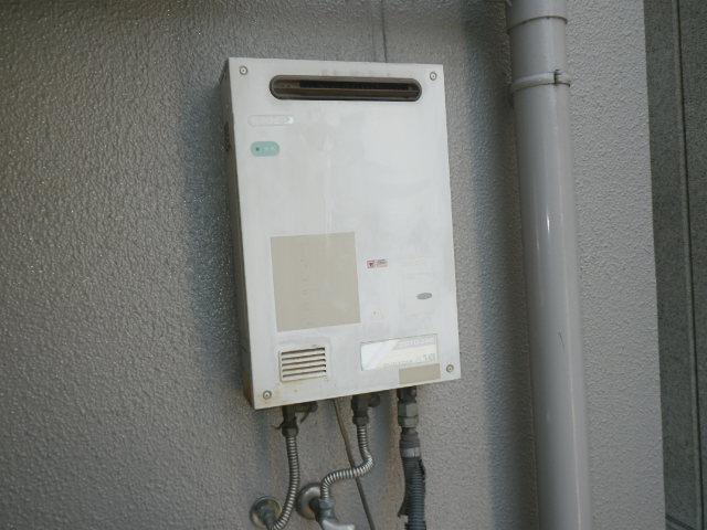 大阪市西淀川区姫里マンション ノーリツ16号ガス給湯器 取替交換工事施工 TOTO から GQ-1639WS
