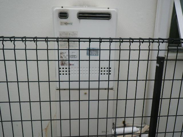神戸市灘区城ノ内 戸建住宅 ノーリツ24号ガスふろ給湯器 取替交換工事施工 GT-2427SAWX から GT-2460SAWX