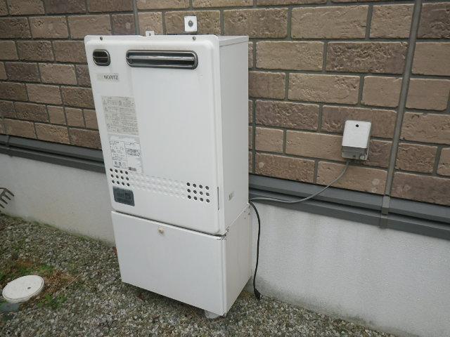 神戸市北区鹿の子台北町 戸建住宅 ノーリツ エコジョーズ 24号 ガスふろ給湯器 取替交換工事施工 GT-2027SAWX から GT-C206SAWX