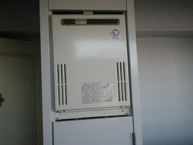 尼崎市道意町 マンション ノーリツ16号 ガスふろ給湯器 取替交換工事施工 GX-164AW-1 から GT-1660SAWX-1