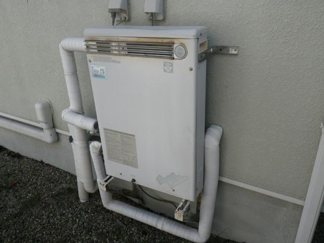 西宮市すみれ台 ノーリツ エコジョーズ 16号ガスふろ給湯器 取替交換工事施工 KZ-16 から GT-C1662SARX