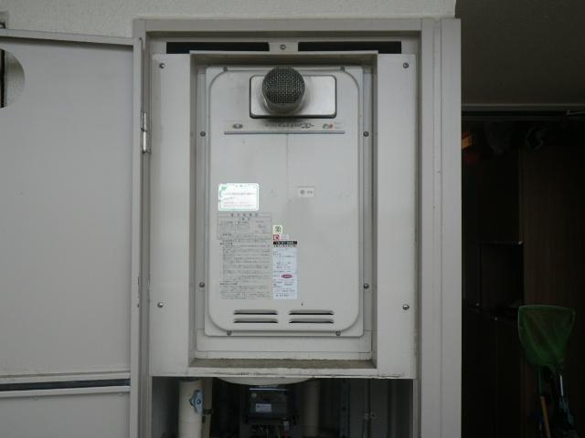 川西市中央町 マンション ノーリツ16号ガス給湯器 クイックオート 取替交換工事施工 31-666 GQ-1627AWX-T-DX BL
