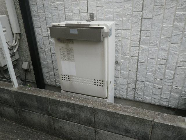 西宮市大屋町 戸建住宅 ノーリツ24号ガスふろ給湯器 取替交換工事施工 WZ-246SAL から GT-2460SAWX