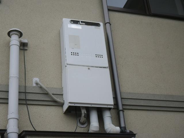 芦屋市大原町 戸建住宅 ノーリツ20号ガスふろ給湯器 取替交換工事施工 WZ-203SAL から GT-2060SAWX-1
