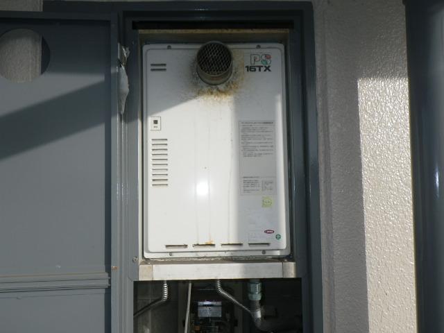 尼崎市南塚口町 マンション ノーリツ 16号ガス給湯器 取替交換工事施工 TP-PS16TX から GQ-1639WS-T-1