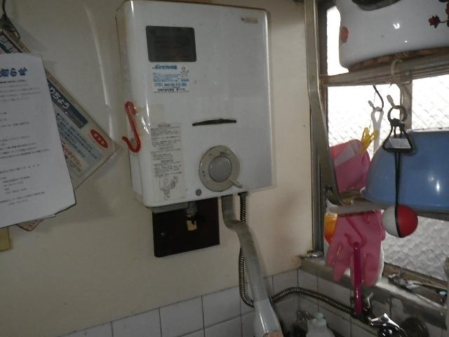 尼崎市下坂部マンション ノーリツ 瞬間湯沸器 取替交換工事施工 取替交換工事施工 33-061 から GQ-531MW