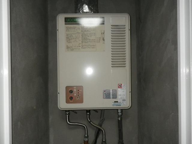 神戸市灘区城内通マンション ノーリツ16号ガス給湯器 屋内設置強制排気型 取替交換工事施工 GQ-1300WFA から GQ-1637WSD-F-1