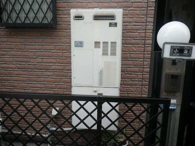 尼崎市下坂部 戸建住宅 ノーリツ24号ガス温水暖房付ふろ給湯器 取替交換工事施工 44-655 YG2438RV から GTH-2444SAWX-1